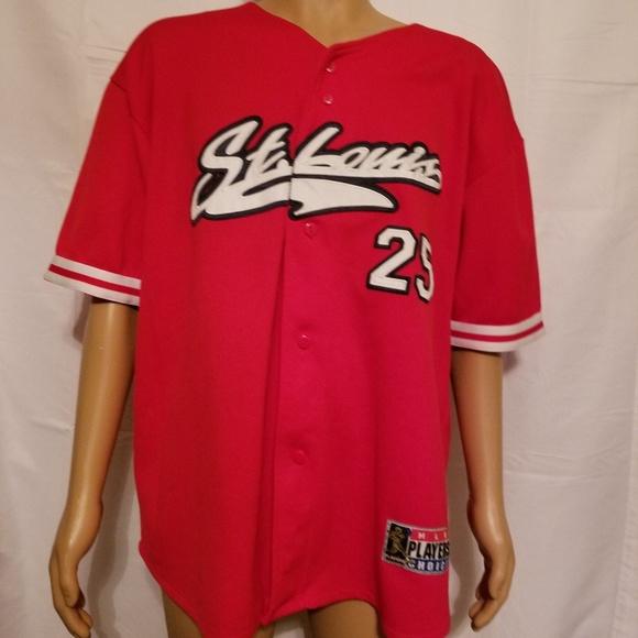 official photos 5d810 6ce98 Vintage st louis Cardinals mark mcgwire Jersey